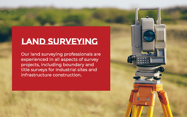 A 3D laser scanner used for land surveying projects