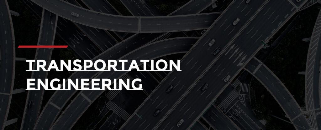 A complex highway interchange